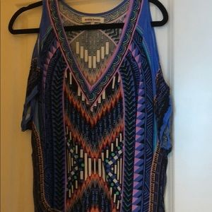 Tops - Size small top. Open shoulder.